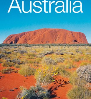 Mini Souvenir Book about Australia - ideal corporate gift to accompany Aboriginal gift, eg. boxed boomerang