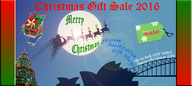 Christmas Gift Sale 2016 for Discounts of up to 60% on Australian Gifts for Xmas @ Australia Gift Shop