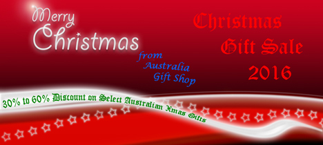 Christmas Gift Sale 2016 - Select Australian Gifts for Xmas at Massive Discount Prices of 30% to 60% OFF the Retail Price