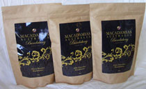 Macadamia Nuts : Chocolate, Dark Choc or Honey Roasted 500gm in Resealable Pouch