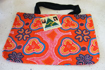:: Tote Bag featuring Aboriginal Art Design #04