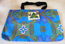 :: Tote Bag featuring Aboriginal Art Design #05
