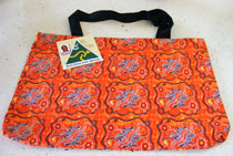 :: Tote Bag featuring Aboriginal Art Design #06