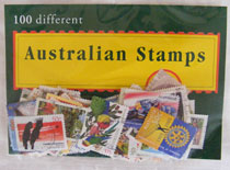 Australian Stamps : 100 Pack