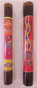 40cm Mini Didgeridoo : Hand Painted