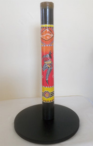 40cm Mini Didgeridoo with Stand