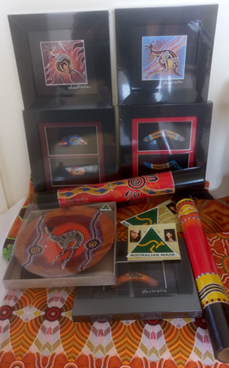 Aboriginal Art Gifts : featuring artwork by Australian Indigenous artists.