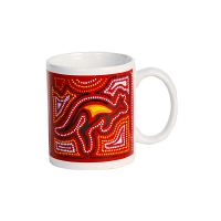 Coffee Mugs : Set of Six : Patterns of Australia